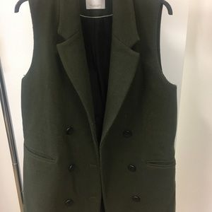 MNG Sleeveless Blazer